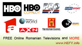 Hefy.info free online television
