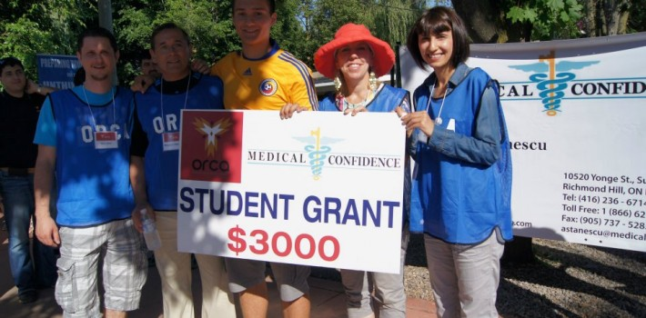 2012 ORCA Student Grant