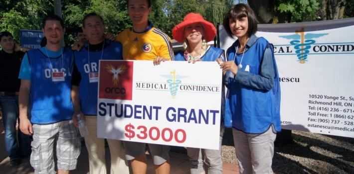 2012 ORCA Student Grant